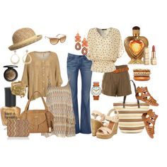 weekend getaway, created by tammielou1958 on Polyvore