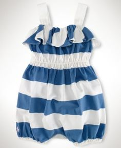 Ralph Lauren Baby Romper <3 My daughter has a red one and a pink one :)