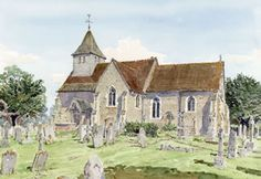 Dunsfold Church Surrey - Church Art by John Lynch