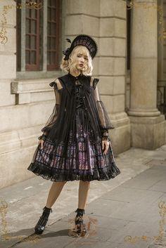 CEL Lolita Studio +The Saint's Prayer+ Outlayer Dress #Leftovers