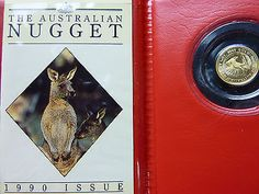 1990 $5 australian nugget #kangaroo 1/20 oz gold proof coin low #mintage #6,589,  View more on the LINK: http://www.zeppy.io/product/gb/2/252617817258/