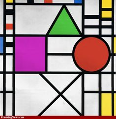 Piet Mondrian for his amazing paintings. He was the inspiration for a project or two. Piet Mondrian, Math Notebooks, Interactive Notebooks, 8th Grade Math, Amazing Paintings, Shape Art, Math Classroom, Maths, Math Literacy