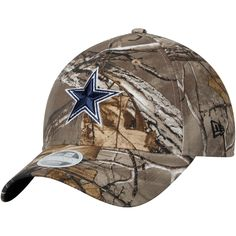 cbbb0aefec2afd Dallas Cowboys New Era Women's Navy Star Lightly Structured 9TWENTY  Adjustable Hat – Realtree Camo