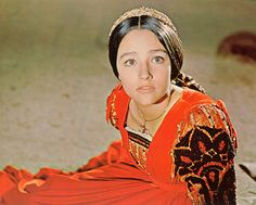 OLIVIA HUSSEY ROMEO AND JULIET COLOR 11X14 PHOTO