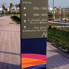 Durrat Al Bahrain: Wayfinding + Signage Design on Behance