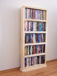 What Does Dvd Storage Ideas Space Saving Living Rooms Bookshelves Mean 43 Storage Boxes With Lids, Fabric Storage, Wall Storage, Bedroom Storage, Storage Ideas, Movie Storage, Kitchen Storage, Storage Solutions, Ideas