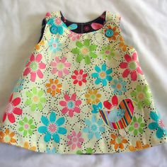 The Perfect A Line - Reversible Dress for Baby and Toddler