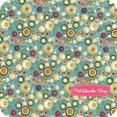 Two by Two Light Blue Dots Yardage SKU# 7741-11