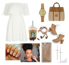 """""""Untitled #36"""" by lashayboss-luv on Polyvore featuring Henri Bendel, River Island, Emporio Armani, Agent 18 and Happy Plugs"""