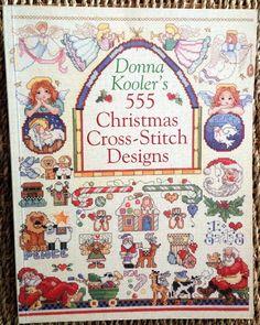 PATTERN cross stitch DONNA KOOLER 555 CHRISTMAS DESIGNS samplers ornaments ETC  #donnakooler #christmas