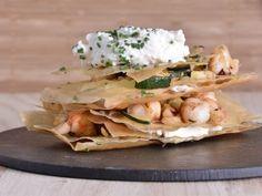 Receta | Milhojas de verduras con ricotta - canalcocina.es