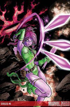 X-men's Blink (marvel comic version)