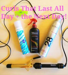 How to make your curls last all day today AND tomorrow!!