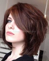 Image result for short to medium layered haircuts for thick hair