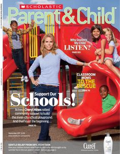 September 2011: Cheryl Hines talks about her efforts to support schools in Los Angeles that are in need.