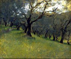 John Singer Sargent - Olive Trees, circa 1878