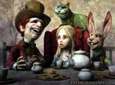 ALICE IN WONDERLAND BY FRED JORDAN