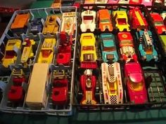 matchbox 75 series  retro 1970's  superfast diecast model toy cars