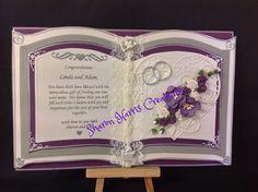 Bookatrix Wedding card I made 2015
