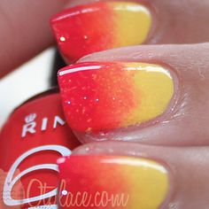 A new How to tut that is very easy to make! Rimmel has 12 new nail polishes! Rimmel is very pigmented from itself. I decided to show you how to make gradient effect on your. Rimmel, Hair And Nails, My Nails, Kim And Kylie, Great Lash, Body Hacks, Heart Melting, Crazy Colour, Cool Nail Designs