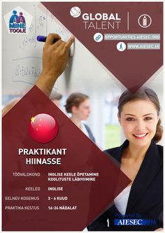 Global Talent - Teaching - China