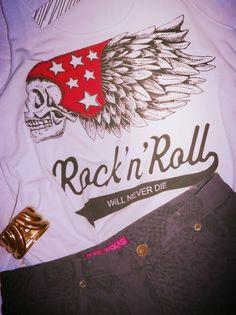 #lasvaskas #LV #summer #ootd #2013 #look #short #day #shirt #skull #rock