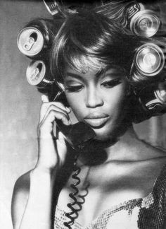 Naomi Campbell photographed by Ellen Von Unwerth, 1991