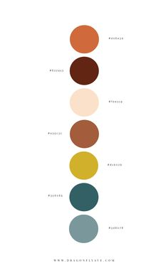 Golden Mud Brand Design - Dragonfly Ave - Expolore the best and the special ideas about Luxury houses Colour Pallette, Colour Schemes, Color Combos, Website Color Palette, Nature Color Palette, Yellow Color Palettes, Rustic Color Palettes, Color Trends, Palette Design