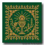 Crochet Pattern - PDF - Simple Chalice Design cross stitch Catholic
