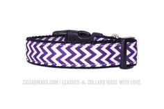 The Pawesome Purple Collar is a perfect match to our Signature Purple Leash. It's one of Jake's favorites, but works well for both boys and girls alike.