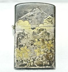 VINTAGE ANTIQUE LIGHTER Zippo Like, Silver Sterling Japan Engraved 925 MT FUJI                            Seller information  justinsublime (1919  )    99.9% Positive feedback  Save this seller  See other items     AdChoice  Item condition:New  Time left: 6d 22h (Jun 20, 2013 17:45:11 PDT)  Starting bid:US $9.95  [ 0 bids ]