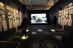 museum projection installations - Google Search