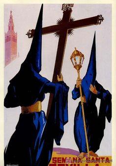 Cartel Semana Santa de Sevilla 1959
