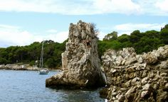 Rocks of Cap d'Antibes - French Riviera  France