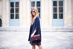 Trendy Look. Look con sandalias plataforma. A trendy life. #trendy #chic #moda #fashion #paris #parisfw #pfw #set #conjuntorayas #platformshoes #burgundybag #details #zalando #chanel #outfit #fashionblogger #atrendylife www-atrendylifestyle.com
