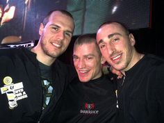 """4/1/13 Krejci, Marchand & Ference go for the """"1""""at Cuts for a Cause."""