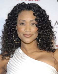 Tami Roman...Love her hair and attitude!
