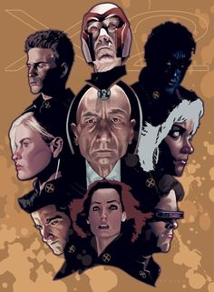 X-men by Jeff Spokes