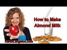 How to Make Creamy Almond Milk
