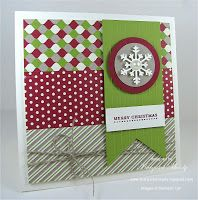 Always Playing with Paper: Merry Monday Christmas Card Challenge #57 {Believe in the Magic}