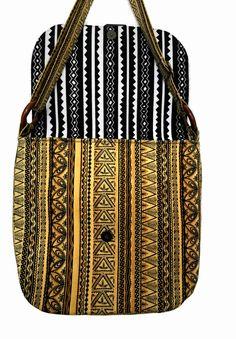 27e067e6c3b9 Crossbody messenger travel bag in African kente cloth make a stylish unique  boho shoulder purse.