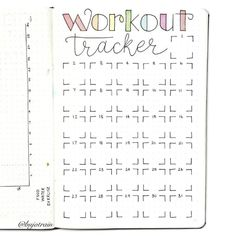 Using my Bullet journal for weight loss Tracking Planning and 71 Examples - 13 fitness Tracker planner ideas Bullet Journal For Weight Loss, Bullet Journal Workout, Bullet Journal Page, Bullet Journal Notebook, Fitness Journal, Bullet Journal Inspo, Bullet Journal Spread, Journal Pages, Diet Journal