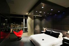 Minimalist interior design : Modern Penthouse in Vancouver, Canada