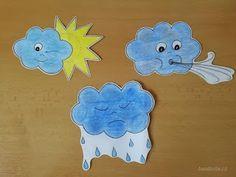 bandorka: Téma počasí v mateřské škole Ice Tray