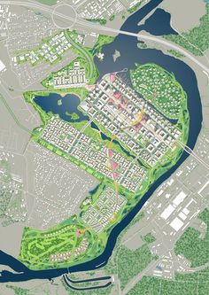 IFC MOSCOW 460HA MASTERPLAN FOR THE NEW FINANCIAL CENTER OF MOSCOW