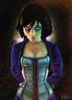 Elizabeth - Bioshock Infinite by archangelgabriel.deviantart.com on @deviantART
