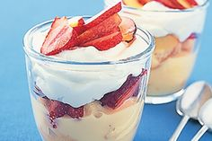 could use a little more of the batida de coco, but a very simple and delicious dessert!