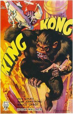 BlogA | Leia & Assista: King Kong, cartazes e design