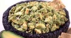 Guacamole: To select ripe avocados for guacamole or any other dish, give them a gentle squeeze. They should be firm with a slight give.
