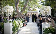 Wedding Ceremony Draped Arch Decorations | Wedding Decorations ~ Ceremony Arch